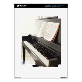 Piano iPad 3 Pegatinas Skins