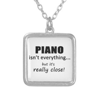 Piano Isn't Everything Necklaces