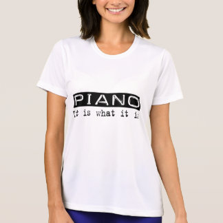 Piano It Is T-shirt