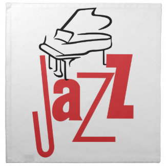 Piano Jazz Cloth Napkin