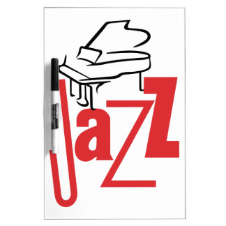 Piano Jazz Dry-Erase Board