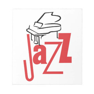 Piano Jazz Notepad