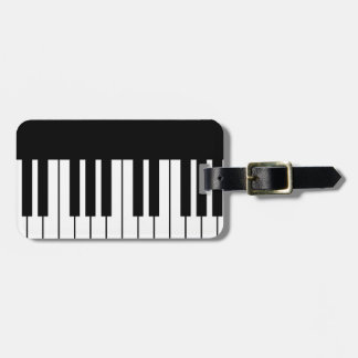 Piano Key Tags For Luggage