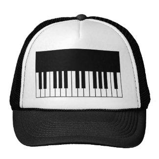Piano Key Trucker Hats