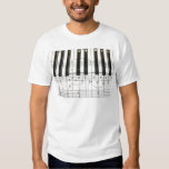 Piano Keyboard and Music Notes Dresses