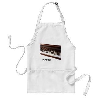 Piano keyboard aprons