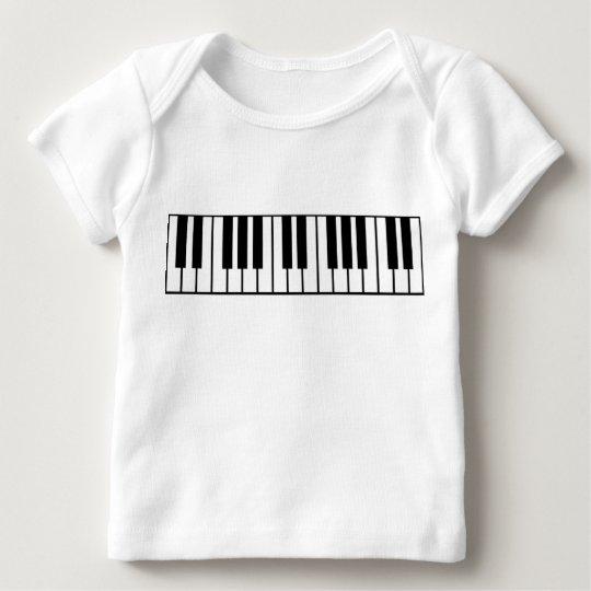 Piano Keyboard Baby T-Shirt