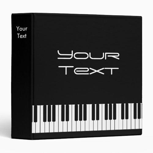 Piano Keyboard Binder 1 12