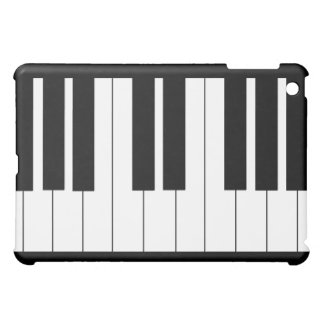 Piano Keyboard Black iPad iPad Mini Cases
