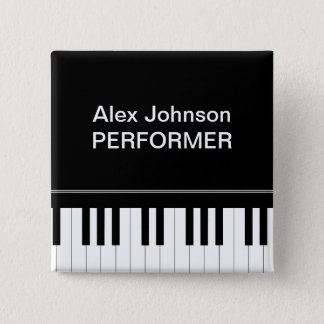 Piano keyboard button