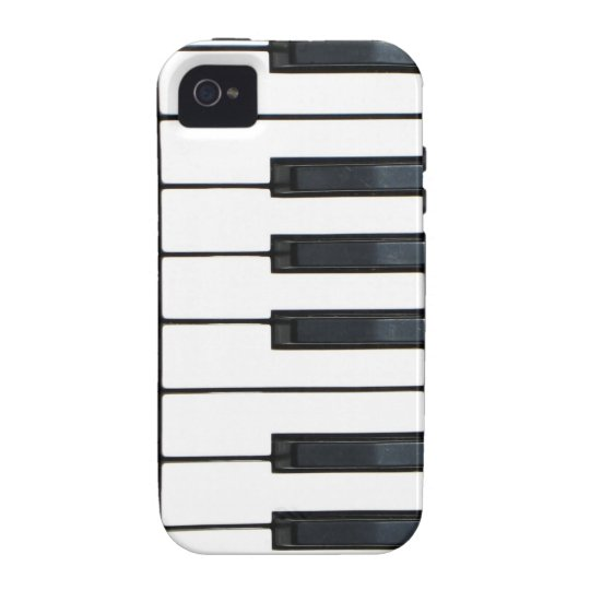 Piano keyboard case for the iPhone 4