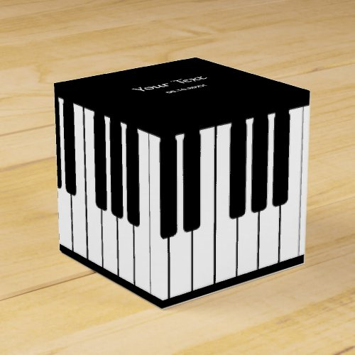 Piano Keyboard Classic Party Favor Box