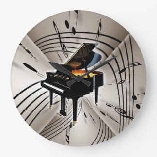 Piano Keyboard Clock