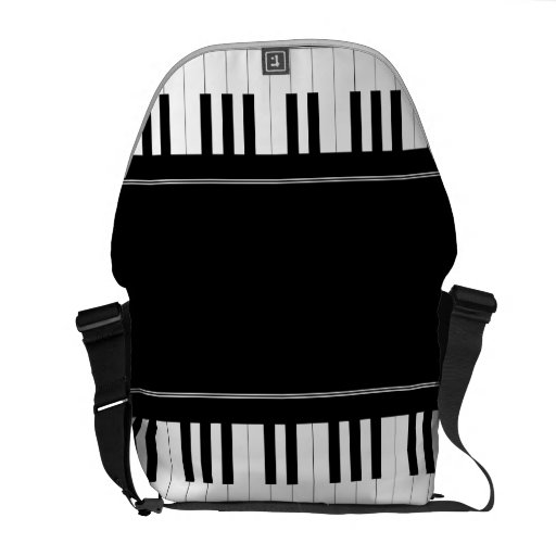 Piano keyboard courier bags