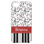Piano Keyboard Cover For iPhone 5C