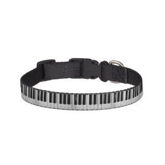 Piano Keyboard Custom Dog Collar