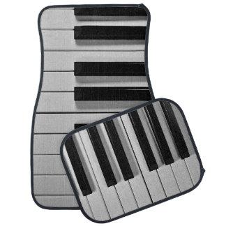 Piano Keyboard Custom Floor Mats