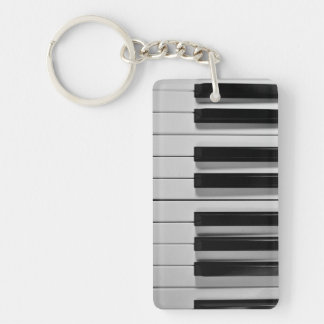 Piano Keyboard Custom Key Chain