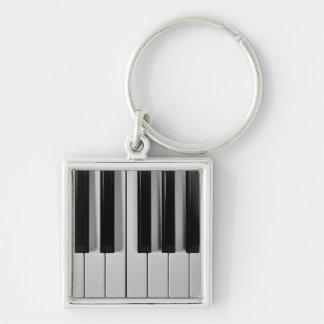 Piano Keyboard Custom Keychain