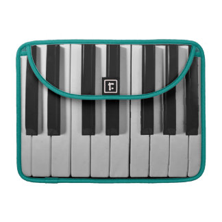 Piano Keyboard Custom MacBook Pro Sleeve