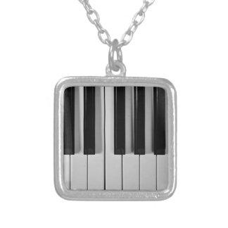 Piano Keyboard Custom Necklace