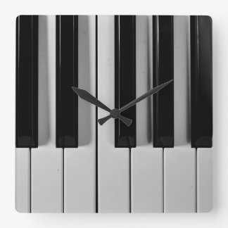 Piano Keyboard Custom Wall Clock