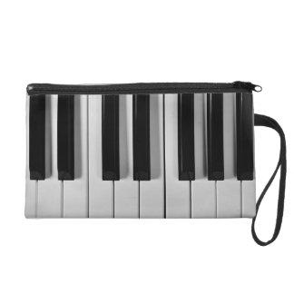 Piano Keyboard Custom Wristlet
