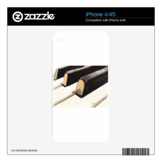 Piano Keyboard Decals For The iPhone 4S