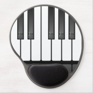 Piano Keyboard Design Gel Mousepad