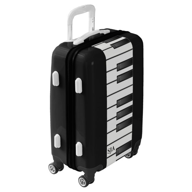 Piano Keyboard Design Luggage