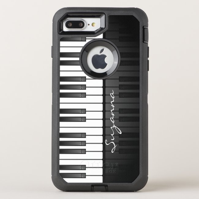 Piano Keyboard Design Otter Box