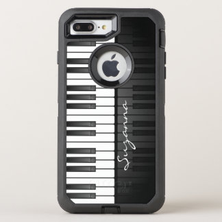 Piano Keyboard Design Otter Box OtterBox Defender iPhone 8 Plus/7 Plus Case