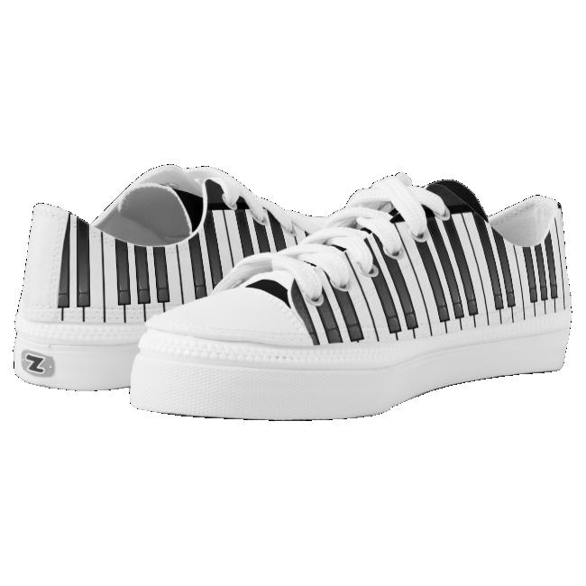 Piano Keyboard Design Sneakers