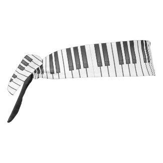 Piano Keyboard Design Tie-Back Headband