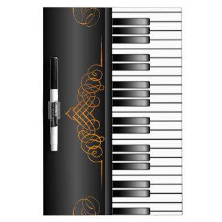 Piano Keyboard Dry-Erase Whiteboard