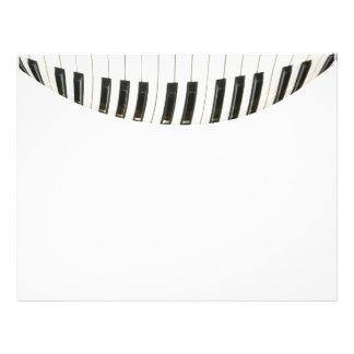 Piano Keyboard Flyer