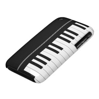 Piano keyboard iPhone 3 Case-Mate case