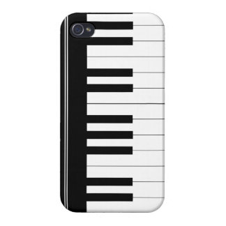 Piano keyboard iPhone 4/4S cases