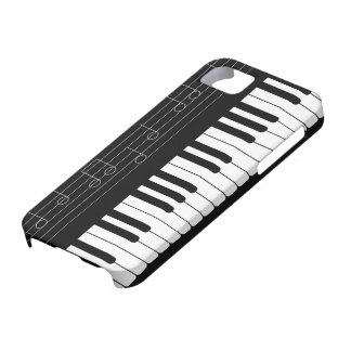 Piano keyboard iPhone 5 cases