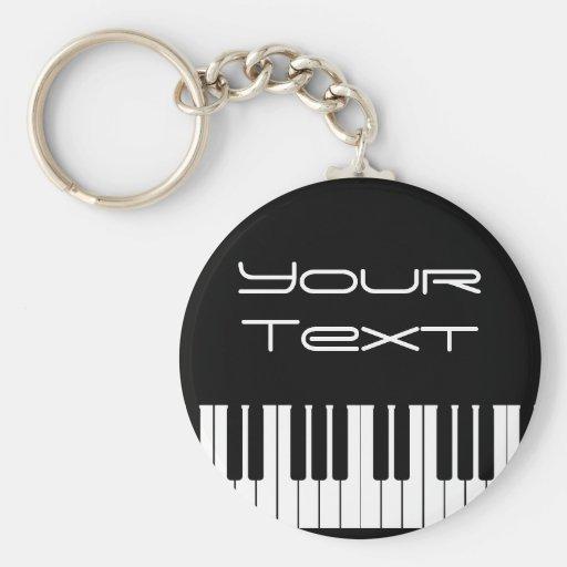 Piano Keyboard Key Chain