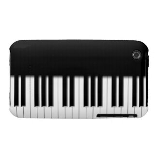 Piano Keyboard Keys Case-Mate iPhone 3 Case