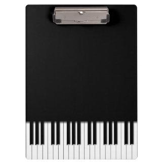 Piano Keyboard Keys Clipboard