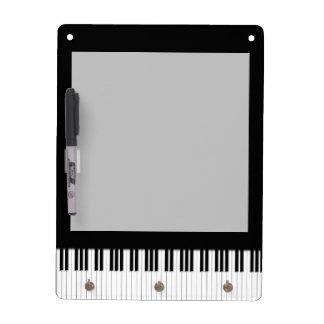 Piano Keyboard Keys Dry-Erase Boards