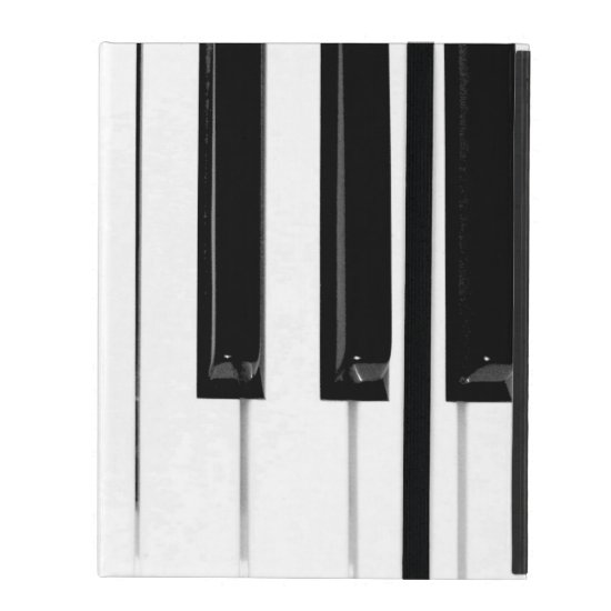 Piano Keyboard Keys iPad Folio Case