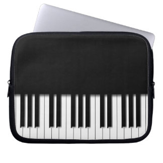Piano Keyboard Keys Laptop Sleeve