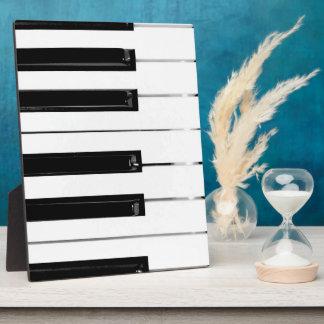 Piano Keyboard Keys Display Plaque