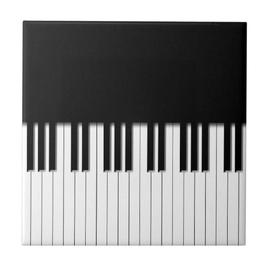 Piano Keyboard Keys Tile