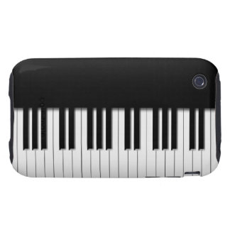 Piano Keyboard Keys Tough iPhone 3 Cover