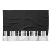 Piano Keyboard Keys Towel