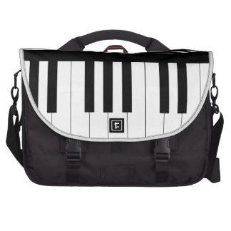 Piano keyboard laptop bags